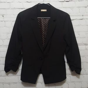 Black blazer suit jacket size S